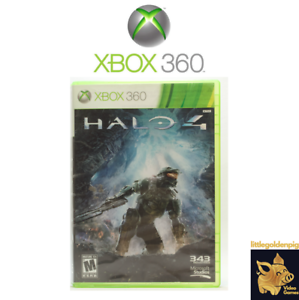 Halo-4-2012-343-Industries-Xbox-360-Video-Game-Disc-Tested-and-Works-D
