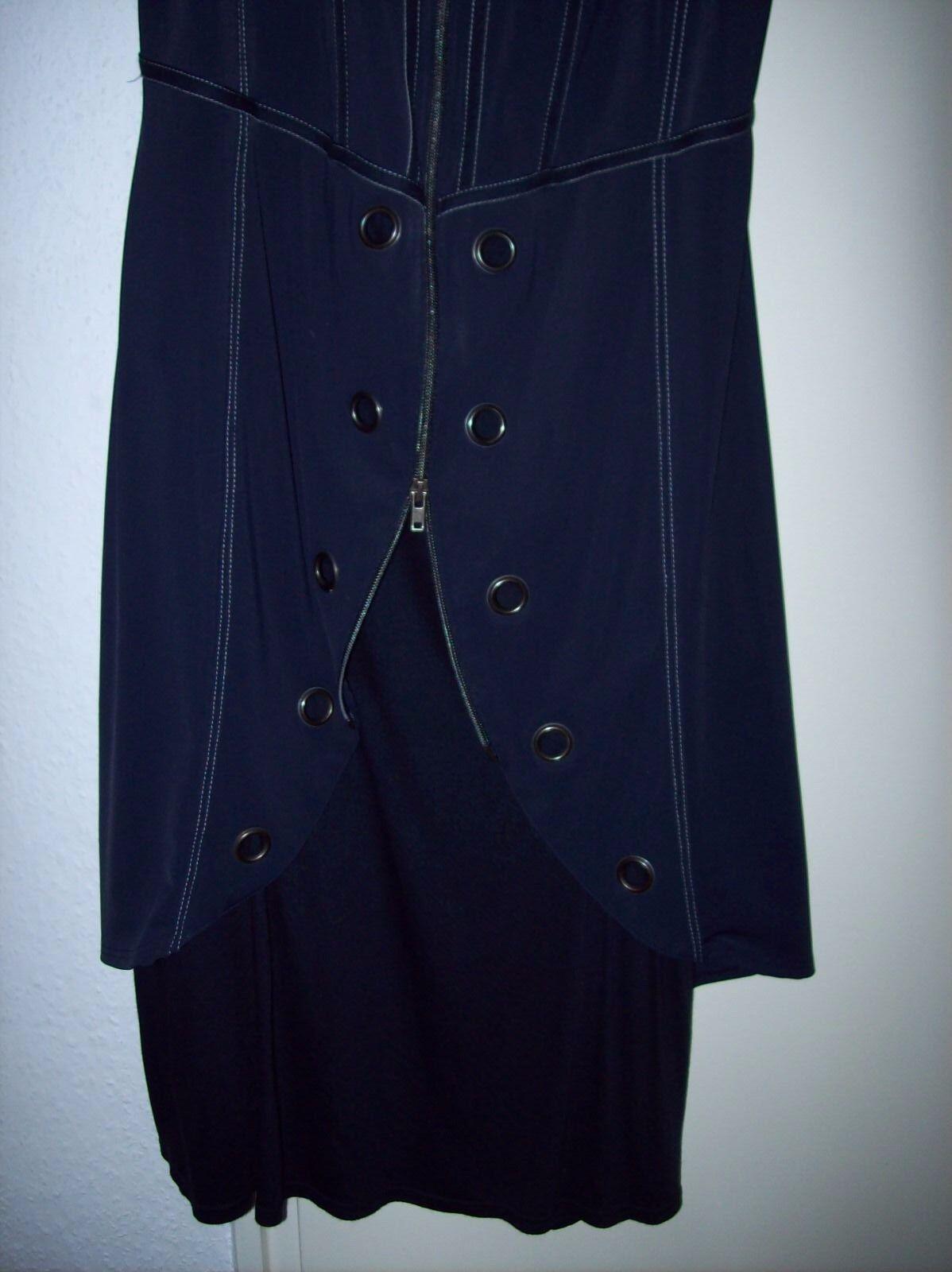 Damen Kleid von Biba Größe M Stretch 40 42 Blau