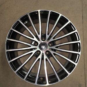 RH-Multispoke-8-x-18-Zoll-ET-35-5x112-black-front-polished-Alufelge-NEU