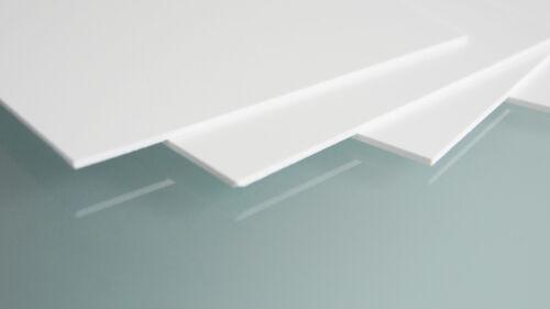 PVC Hartschaum Platten Weiß 4 mm Qm 28,80 € Zuschnitte auf Maß Z