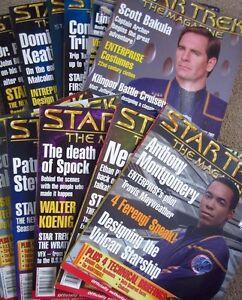 Star-Trek-The-Magazine-Vol-2-9-thru-Vol-3-8-published-02-03-sold-individual
