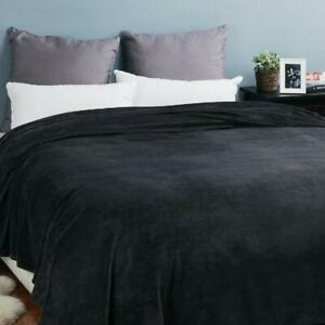 Soft Warm Plush Fleece Throw Blanket