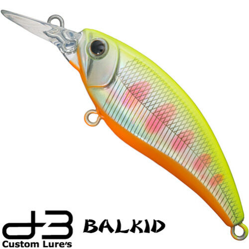 D-3 Custom Balkid 5.0 g 50 mm various colors Trout sinking minnow
