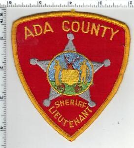ADA COUNTY IDAHO ID SHERIFF POLICE PATCH