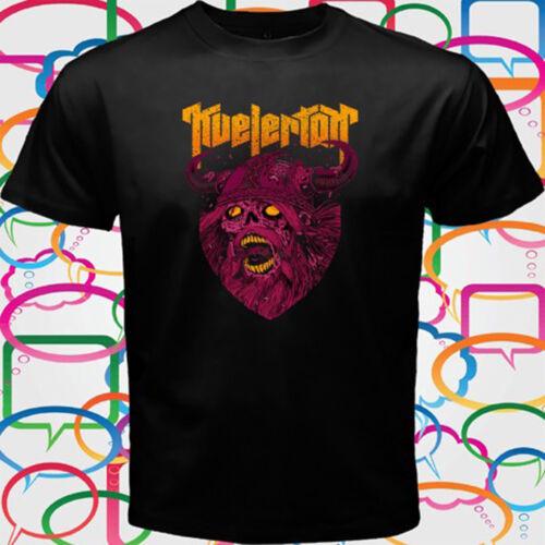 Kvelertak Band Zombie Viking Heavy Metal Band Homme T-shirt noir taille S à 3XL