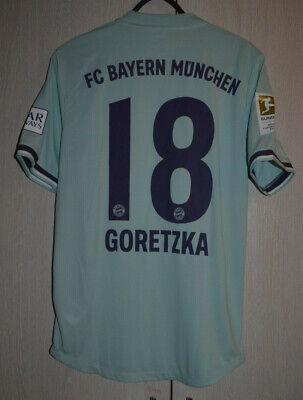 Bayern Munchen Germania 2018/2019 Partita Worn Issuefootball Camicia Adidas | eBay