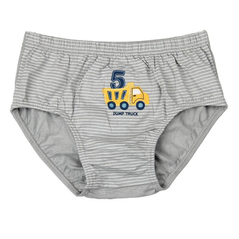 BabyEnesu Toddler Boys Cotton Underwear Cartoon Underpants 5 PackMedium