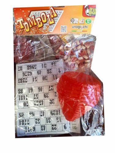 tombola napoli cartellone cartelle paniere 90 numeri legno bingo natale leo
