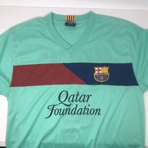 FC Barcelona Soccer Futbol Qatar Foundation Jersey Cesc Fabregas XL