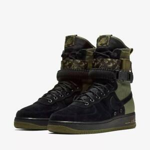 Details about Nike SF Air Force 1 Mens Multi Size Camo Boots AF1 Olive 864024 004 Special