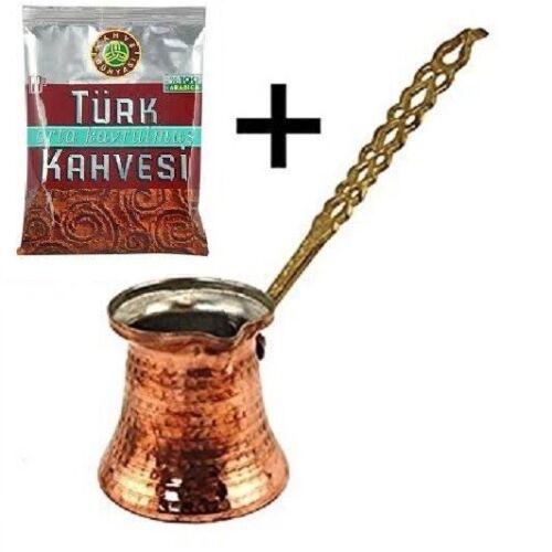 100g Coffee Turkish Handmade Copper Coffee Pot Ibrik Kettle Jazzva Briki Cezve