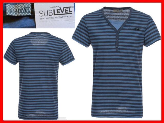SUBLEVEL Camiseta Hombre Talla S SU01 N1P