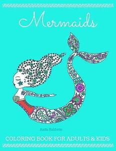 Mermaid Coloring Book Mermaids Coloring Book For Adults And Kids