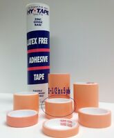 Hy-tape Pink Tape Medical Waterproof Surgical Tape 1.5 X 5 Yd, Pack Of 2 Rolls