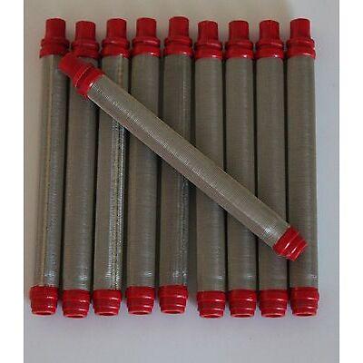 10x Filter Pistolenfilter Airless #200 mesh rot 10 St. für Wagner Pistolen NEU