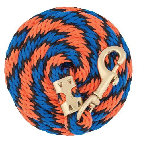 """Weaver Poly Value Lead Rope with Brass Plated 225 Snap 5//8/"""" x 8/'"""
