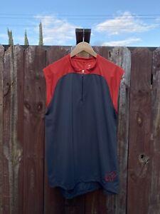 Fox Racing Base Sleeveless Jersey Red Size XL