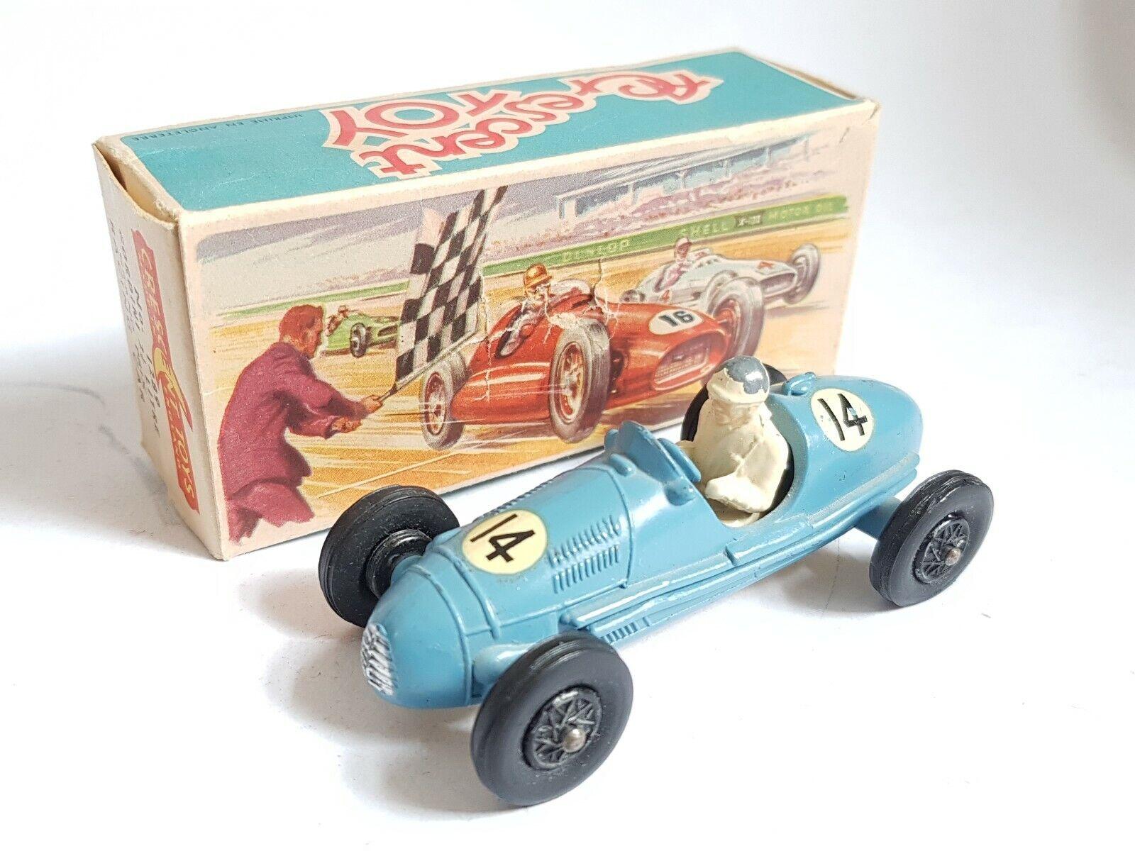Crescent Toys  1289 Gordini 2.5 Litre Grand Prix Racing voiture boxed excellent 1958  très populaire