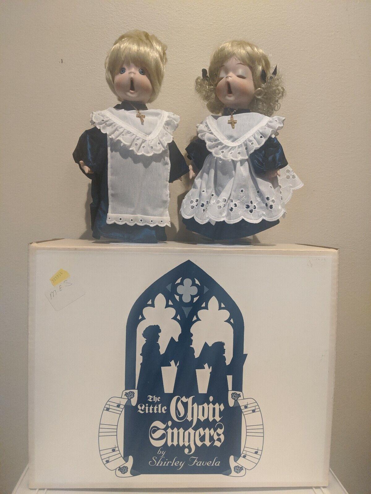 The klein Choir Singers Dolls By Shirley Favela Porcelain Dolls  205 of 2000