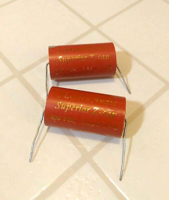 Jantzen audio Z-superior cap 2,2uf 2,20uf 800vdc mkp 2/% 26x45mm axial #wp