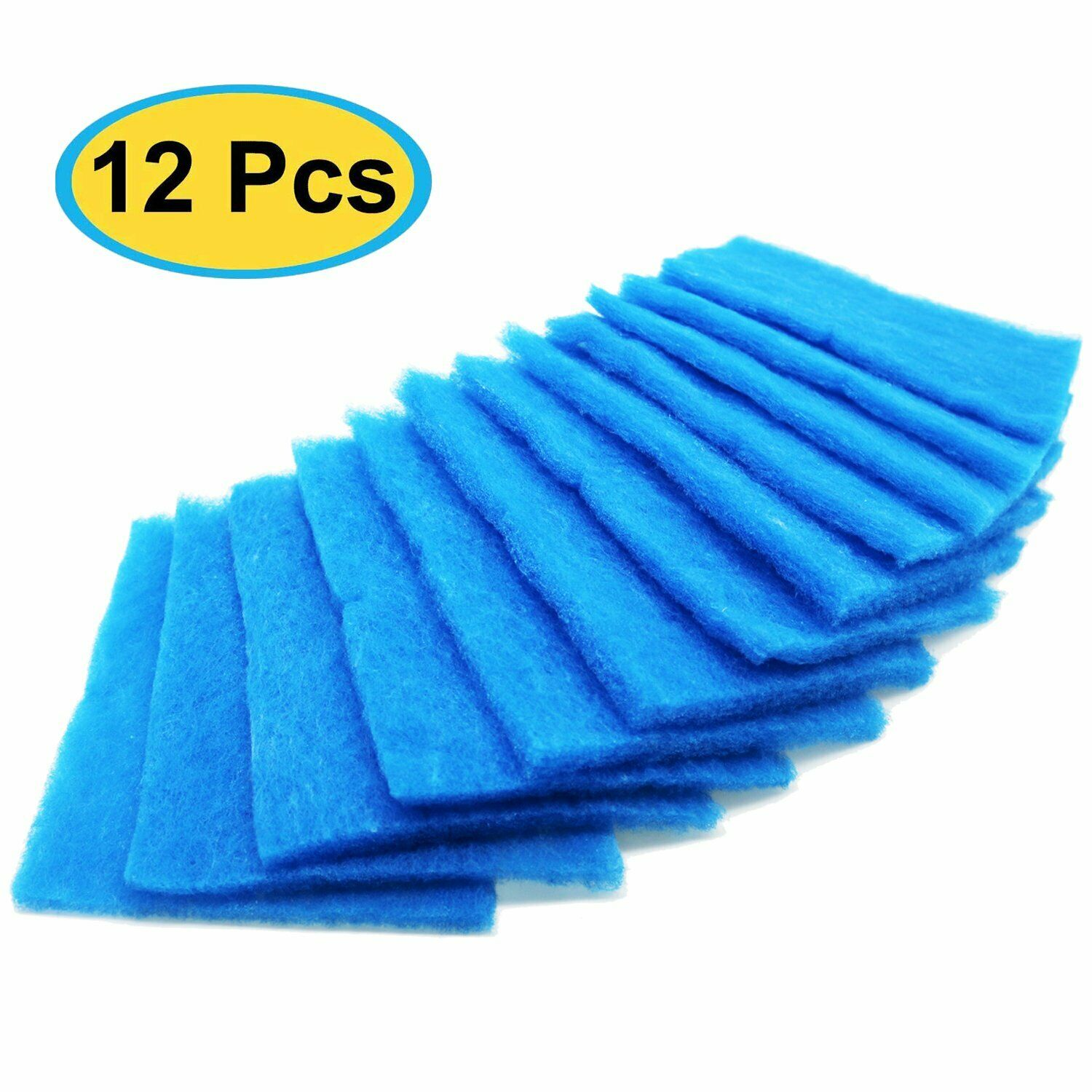 12Pack Replacement Polyester Filters For BetterVent Dryer Vent Filter Indoor Kit