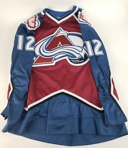 Authentic-NHL-Hockey-Jersey-Colorado-Avalanche-Chris-Simon-12-CCM-Center-Ice