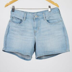 Levi-039-s-Damen-Classic-blau-denim-Shorts-DE-34-US-W27
