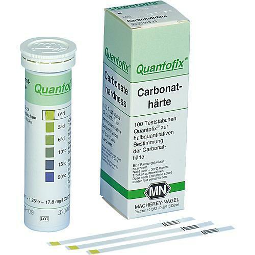 MN Quantofix Teststäbchen Carbonathärte 0.3.6.10.15.20 °d 1