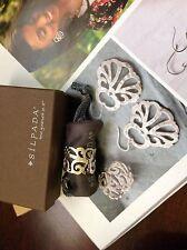 Silpada Scroll Filigree Sterling Silver Ring Size 9 R1200 NIB.