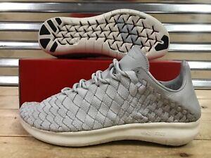 5a480ac9b94a Nike NikeLab Free Inneva Woven Motion Shoes Pure Platinum SZ 11 ...
