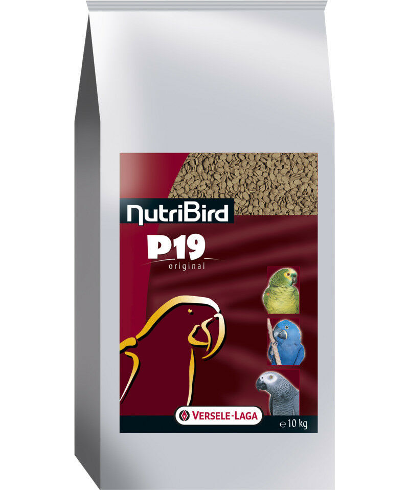 Nutribird P19 Original, 10 kg, Zuchtfutter for Parreds - Helmet Unicolor
