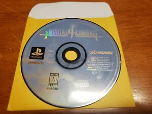 Mortal-Kombat-4-Sony-PlayStation-1-1998-PS1-Black-Label-Game-Disc-Only-TESTED