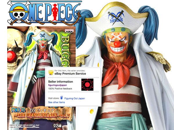 ☀ One Piece Buggy the Clown Grandline Men Vol 7 Banpresto Figure Figurine Japan☀
