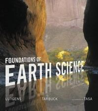 FOUNDATIONS OF EARTH SCIENCE 8th Edition (USED Textbook ) F. Lutgens  E. Tarbuck
