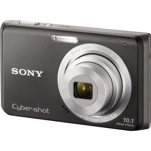 sony cyber shot dsc w180 10 1mp digital camera black ebay rh ebay com