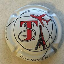 Capsule de champagne TRIBAUT Sébastien (fond blanc)