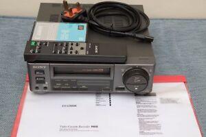 SONY-HI8-EV-C500E-video8-VCR-Recorder-Remote-Manual-Head-Cleaner