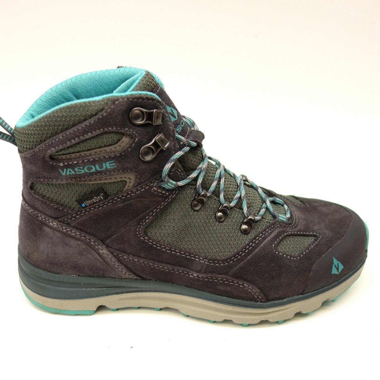 Vasque Womens Mesa Trek Ultradry Athletic Hiking Trail Outdoor Mid Boots Sz 8M