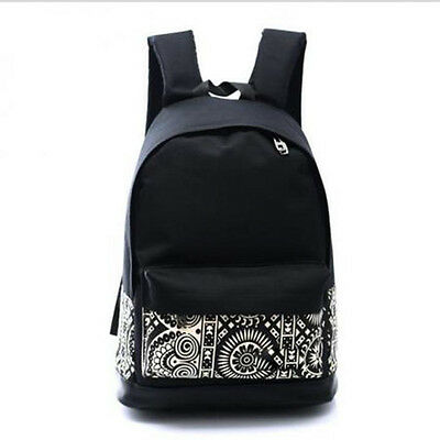 Womens Men Casual Backpack Girl School Fashion Shoulder Bag Rucksack Travel Bags