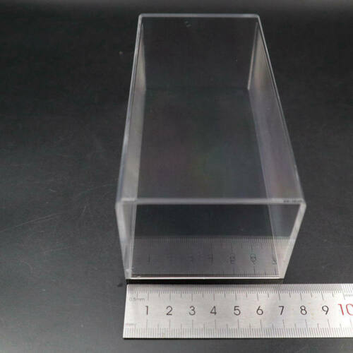 Acrylic Display Case 1:43 Model Cars Clear Show Box Transparent Dust Proof 14cm