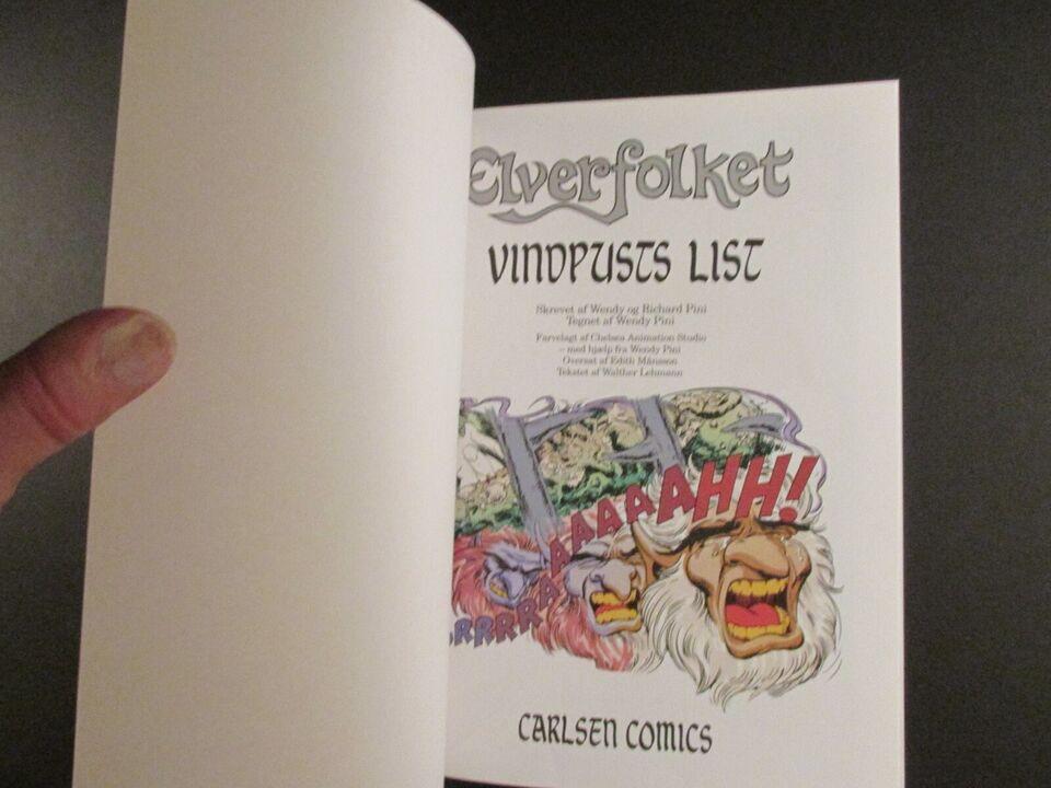 Tegneserier, Elverfolket, Album nr. 23 : Vindpusts list.