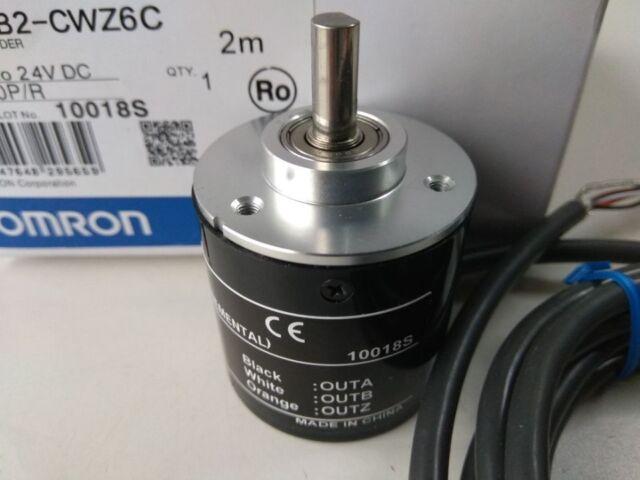 1x OMRON 1024P Incremental Rotary Encoder 1024p/r 5-24v DC E6B2-CWZ6C NPN