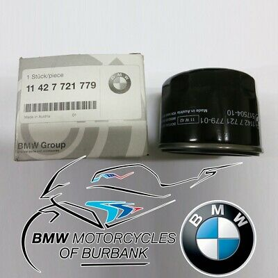 Genuine BMW Motorrad Air Filter Cleaner Element For R1200 GS RT R RS 13727726799