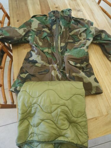 Military Issue Jacket With Liner