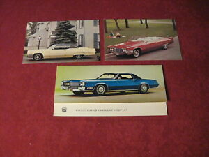 1969-Cadillac-Post-card-lot-Sales-Brochure-Old-Original-Booklet-Book-Catalog