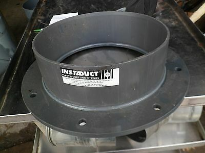 INDUSTRIAL PVC DUCT FITTING,FLANGE,MFG. INSTADUCT