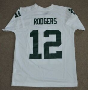 Aaron Rodgers Green Bay Packers NFL Football Jersey YOUTH Medium 10 ... bd2648515