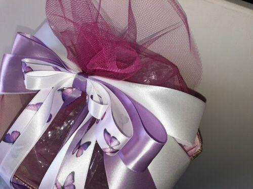 Schleife für Schultüte Zuckertüte auch mit Name  Schmetterling Butterfly