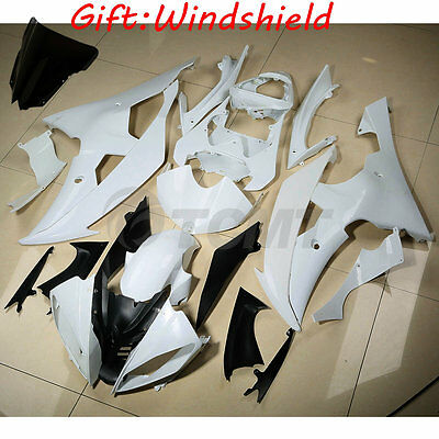 Unpainted Injection ABS Fairing Body Set For Yamaha YZF R6 600 YZFR6 2008-2016