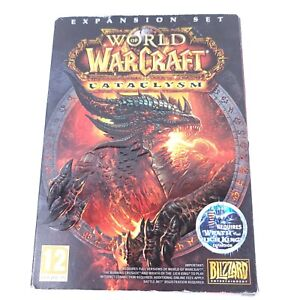 World of Warcraft Cataclysm Expansion Set 2010 PC DVD-ROM Video Game New in Box